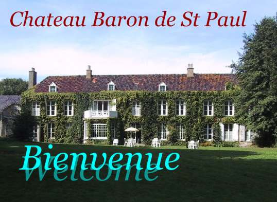 Détails : Week end au Chateau Baron de St Paul, Hames boucres (62), France. Week end dasn les arbres du Parc